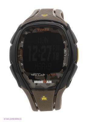 Часы TIMEX. Цвет: серо-коричневый
