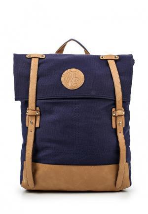 Рюкзак Jennyfer. Цвет: синий