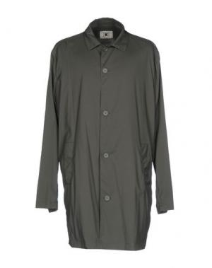Легкое пальто KIRED. Цвет: темно-зеленый