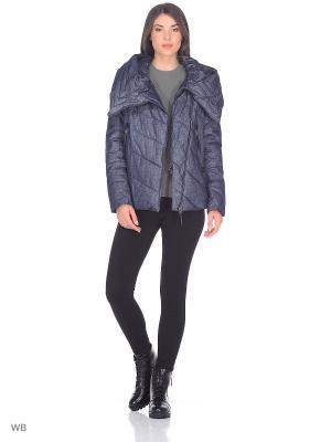 Куртка MOHNASS. Цвет: синий
