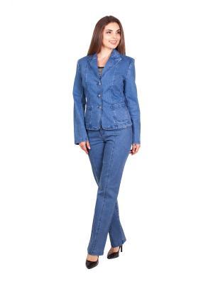 Жакет LAFEI-NIER. Цвет: синий