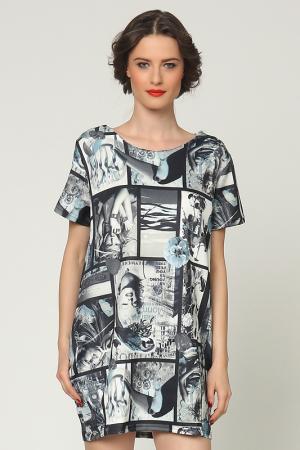 Платье Grazia. Цвет: черный