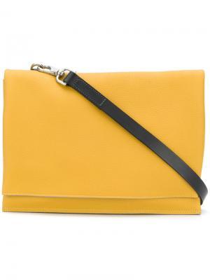 Сумка Valerie Ally Capellino. Цвет: жёлтый и оранжевый