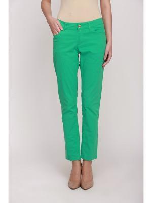 Джинсы Baon. Цвет: зеленый