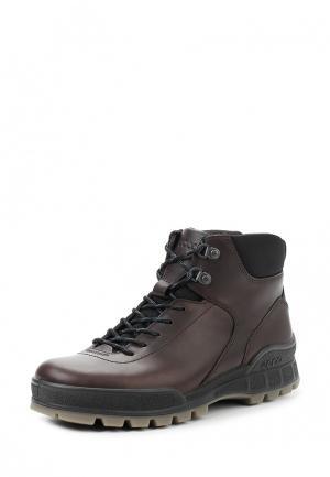 Ботинки TRACK II Ecco. Цвет: коричневый