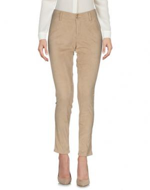 Повседневные брюки LIST. Цвет: песочный