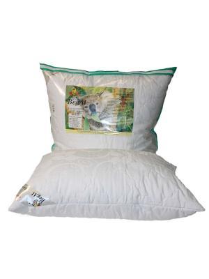 Подушка стеганая 50*70 Эвкалипт BegAl. Цвет: белый