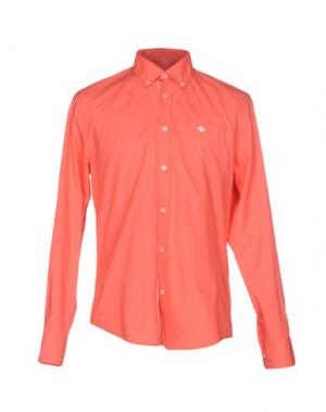 Pубашка MURPHY & NYE. Цвет: коралловый
