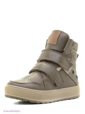 Ботинки Ralf Ringer. Цвет: оливковый