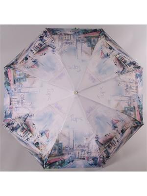 Зонт Trust. Цвет: серый, розовый