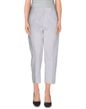 Повседневные брюки PT0W. Цвет: белый
