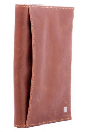 Портмоне Bodenschatz. Цвет: коричневый