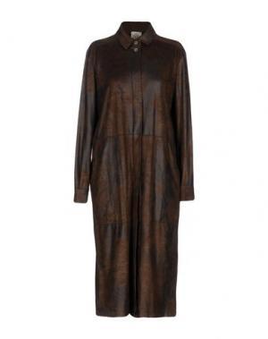 Платье до колена SO NICE. Цвет: темно-коричневый