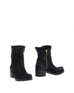 Полусапоги и высокие ботинки SCOOP. Цвет: черный
