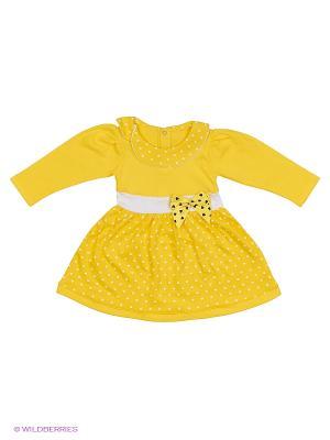 Платье БЕБИ БУМ Сиб. Цвет: желтый
