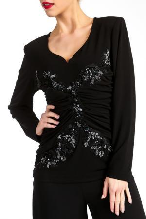 Блузка Georgede. Цвет: черный