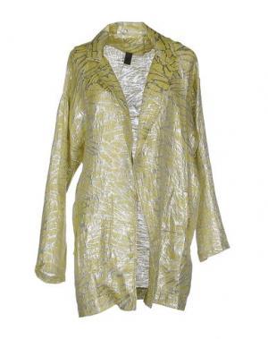 Легкое пальто JIJIL. Цвет: желтый