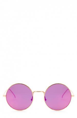 Очки солнцезащитные Illesteva. Цвет: розовый