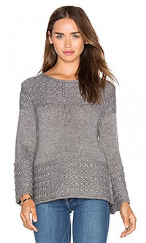 Пуловер olivia LA Made. Цвет: серый