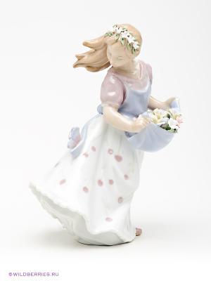 Фигурка Юная Леди Pavone. Цвет: белый, сиреневый, бежевый, розовый