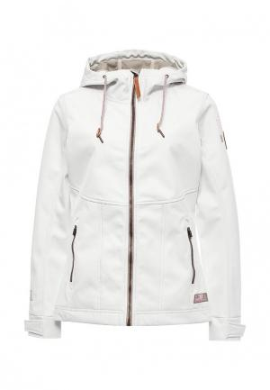 Куртка Torstai. Цвет: белый