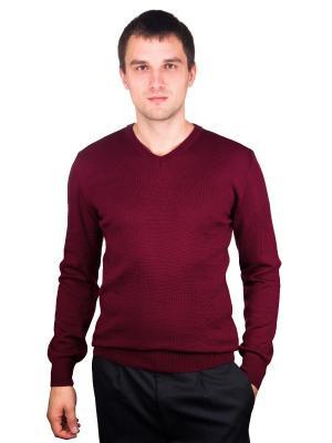 Пуловер CASINO. Цвет: бордовый