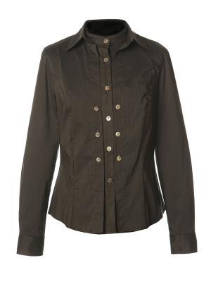 Рубашка Domenico Croci. Цвет: темно-коричневый