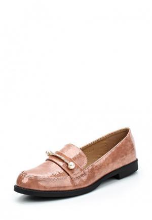 Лоферы WS Shoes. Цвет: розовый