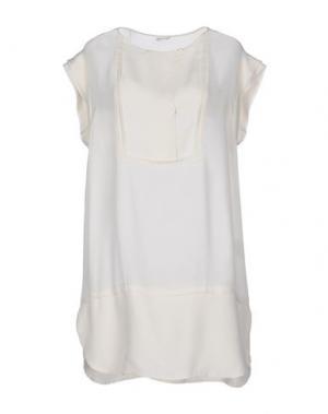 Короткое платье POMANDÈRE. Цвет: слоновая кость