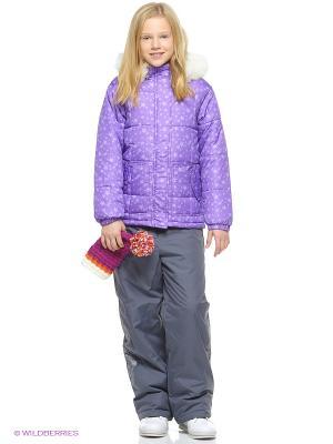 Куртка KUUTTI. Цвет: фиолетовый
