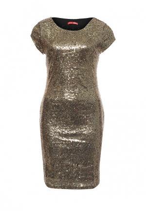 Платье ТВОЕ. Цвет: золотой