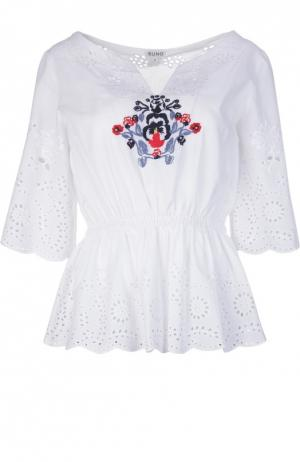 Блуза Suno. Цвет: белый