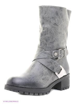 Ботинки Betsy. Цвет: серый
