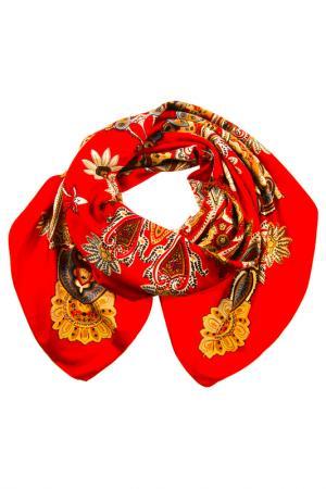 Платок Vita Pelle. Цвет: красный, белый