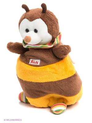 Кукла на руку TRUDI. Цвет: коричневый, бежевый, желтый, черный