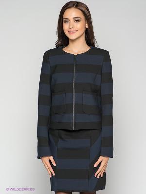 Жакет MEXX. Цвет: черный, синий