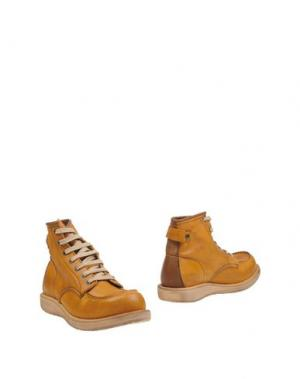 Полусапоги и высокие ботинки GHOLD 78.38. Цвет: желто-коричневый