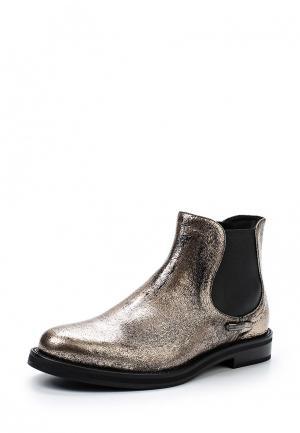Ботинки Fabi. Цвет: золотой