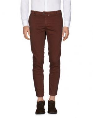 Повседневные брюки TAKESHY KUROSAWA. Цвет: коричневый