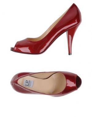 Туфли LUCIANO PADOVAN. Цвет: красно-коричневый