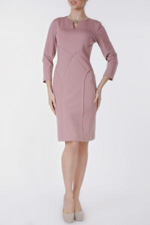 Платье MoNaMod. Цвет: розовый