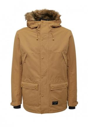 Куртка горнолыжная Billabong. Цвет: бежевый