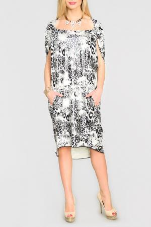 Платье Kata Binska. Цвет: белый, черный