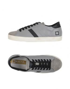 Низкие кеды и кроссовки D.A.T.E.. Цвет: светло-серый
