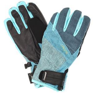 Перчатки женские  Comet Glove Sapphire Dakine. Цвет: голубой