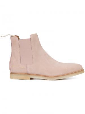 Ботинки по щиколотку Common Projects. Цвет: розовый и фиолетовый