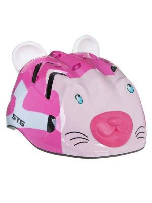 Шлем STG. Цвет: розовый
