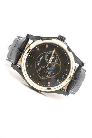 Часы наручные Adriatica. Цвет: желтый, черный