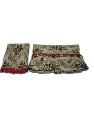 Комплект дивандек 150*200 (70*140-2 шт.) +/- 2% 017 Сказка МарТекс. Цвет: коричневый