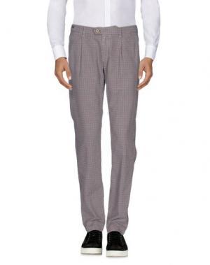 Повседневные брюки TELERIA ZED. Цвет: серый